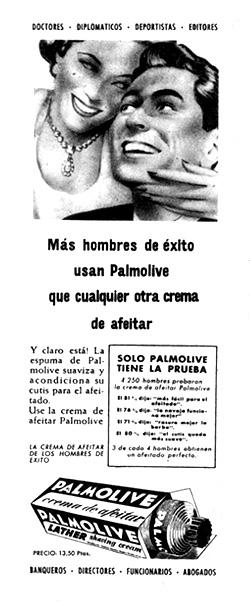 crema de afeitar palmolive