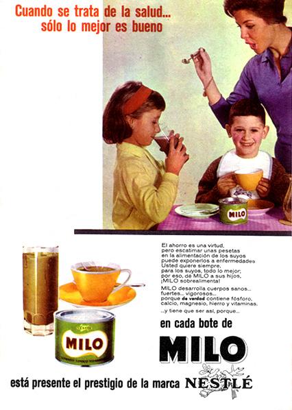 alimento vitaminado milo