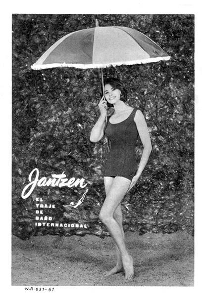 traje de baño jantzen