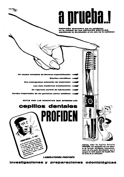 cepillos dentales profiden