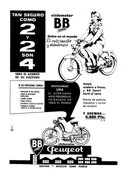 ciclomotor geugot