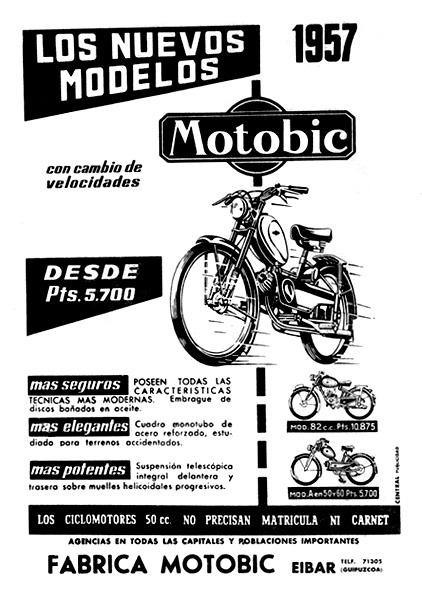 ciclomotores motobic