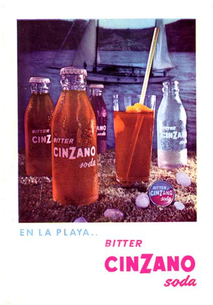 bitter cinzano soda
