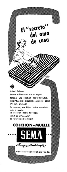 colchon de muelles sema
