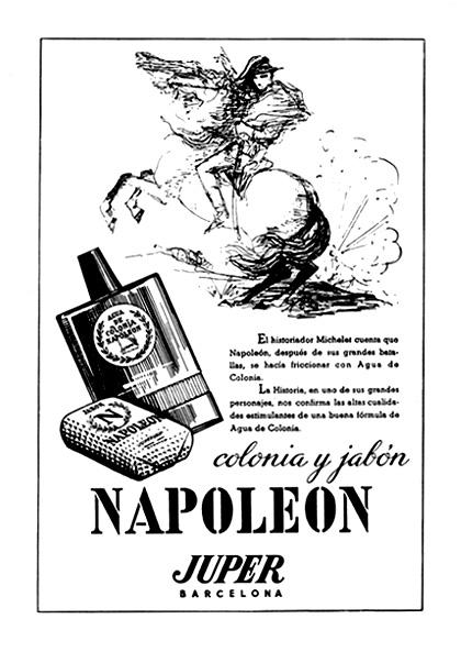 colonia y jabón napoleón