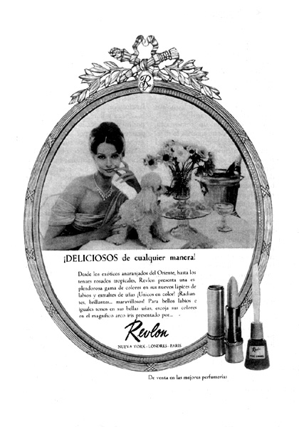productos de cosmética revlon