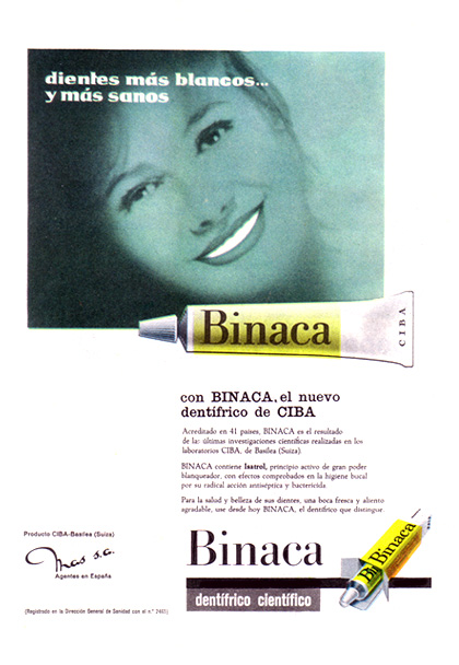 dentifrico binaca