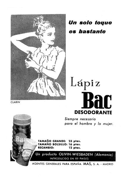 desodorante bac