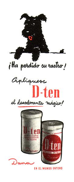 desodorante d-ten