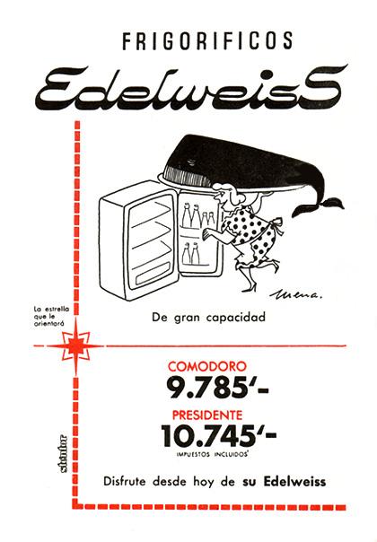 frigorificos edelweiss