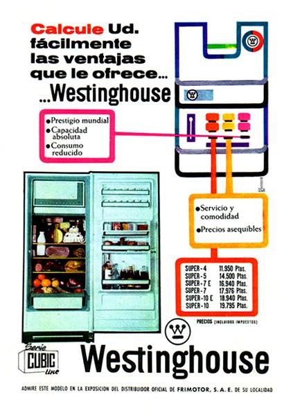 frigoríficos westinghouse