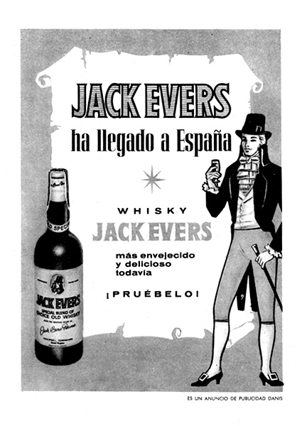 whisky jack evers