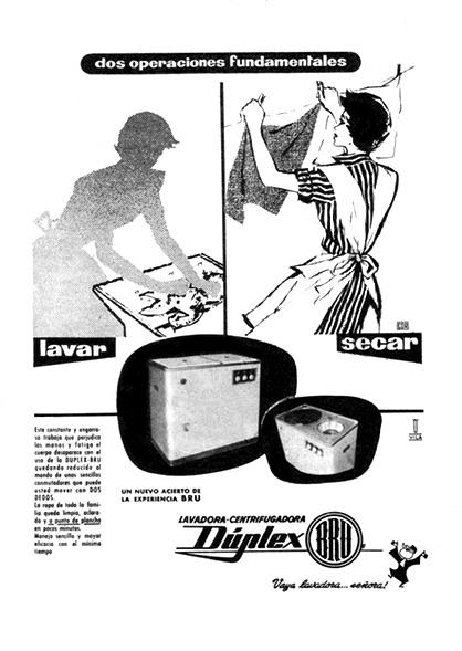 lavadora-centrifugadora duplex