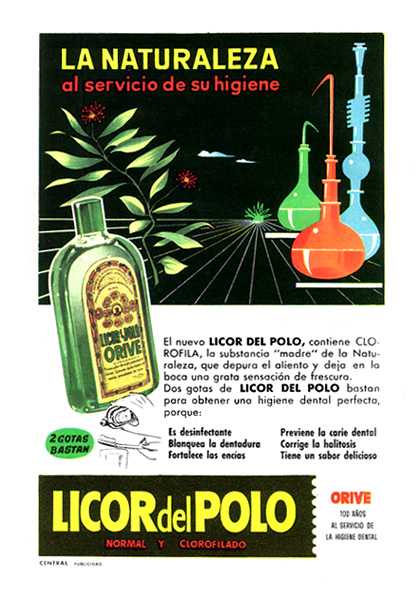 enjuague bucal licor del polo