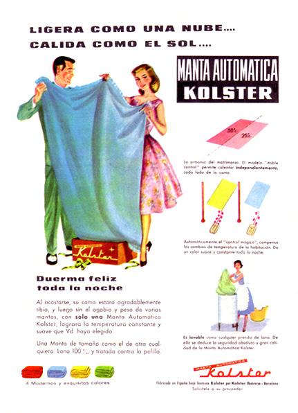 manta automática kolster