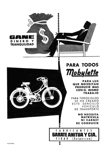 motocicletas mobylette