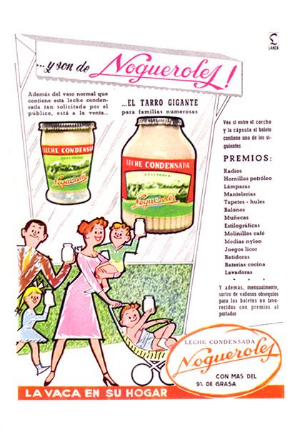 leche condensada nogueroles