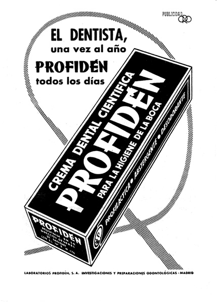 crema dental profiden
