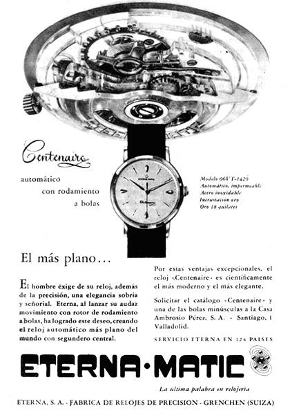 reloj centenaire