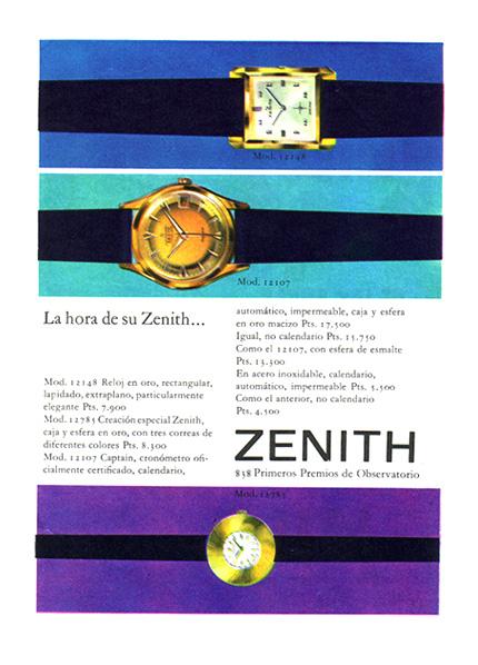relojes zenith