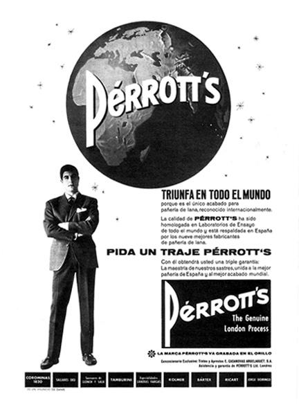 trajes perrott's